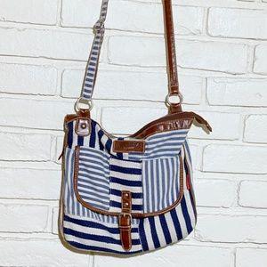 Union bay striped purse